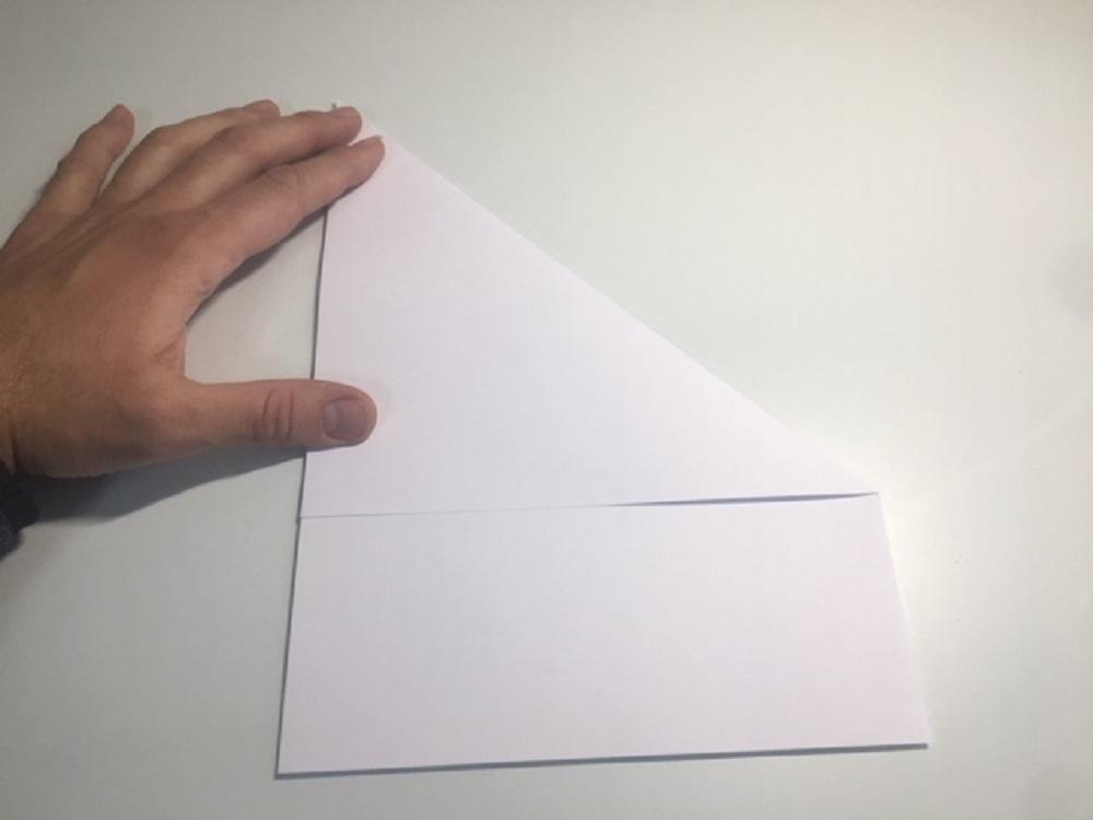 Como hacer un avion de papel paso a paso