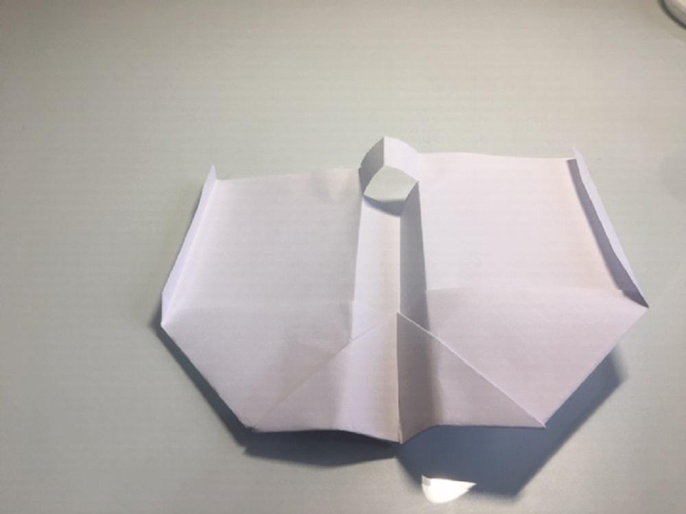 Hacer una avión de papel fácil