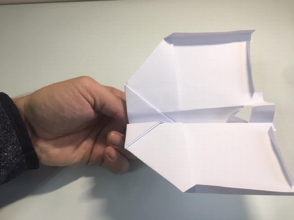 Como hacer un avión de papel