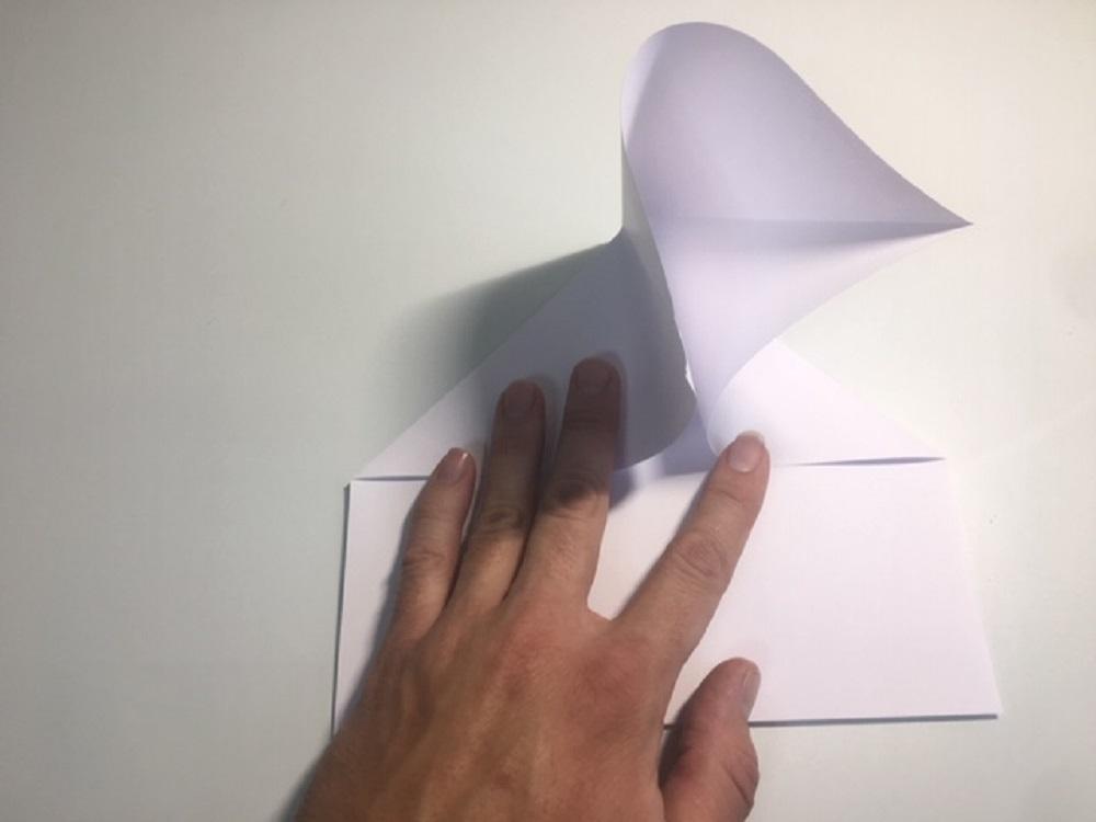 como hacer una avión de papel normal