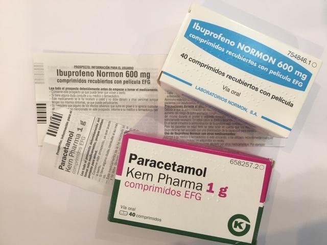 para que sirve el paracetamol y para que sirve el ibuprofeno