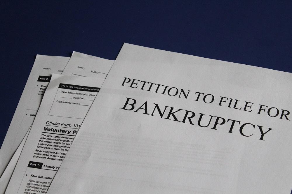 bancarrota negocios fallidos