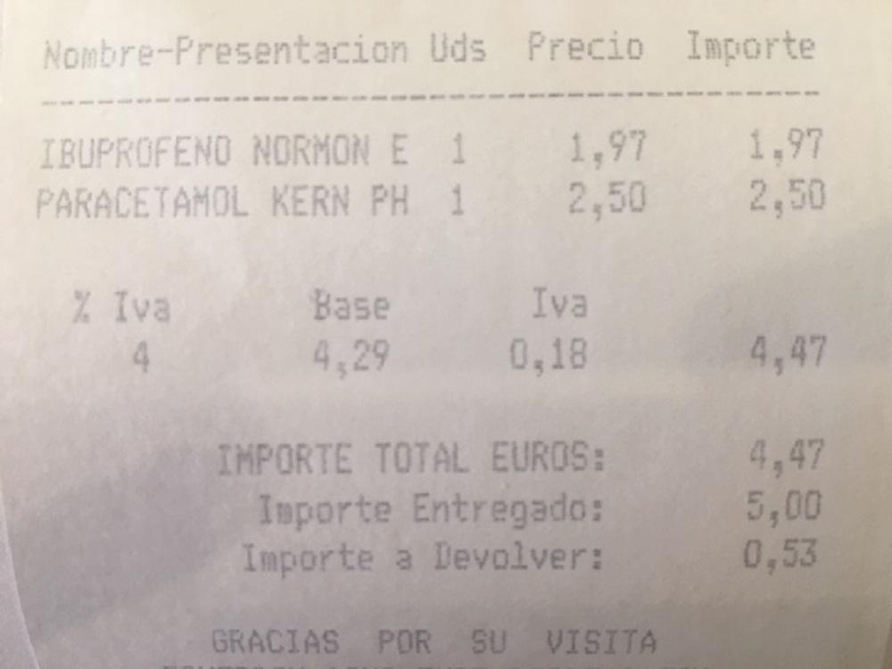 precio del ibuprofeno y para que sirve