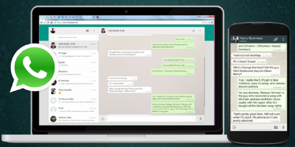 cómo usar whatapp web en tu ordenador y móvil